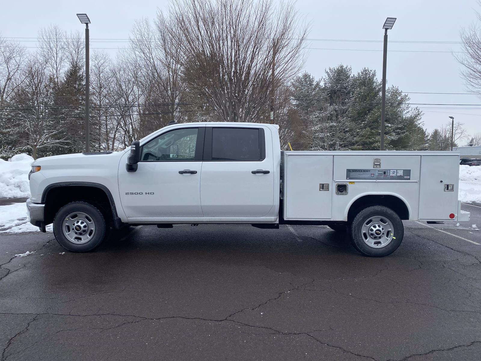 2021 Chevrolet Silverado 2500 Crew Cab 4x2, Reading SL Service Body #1401R - photo 4