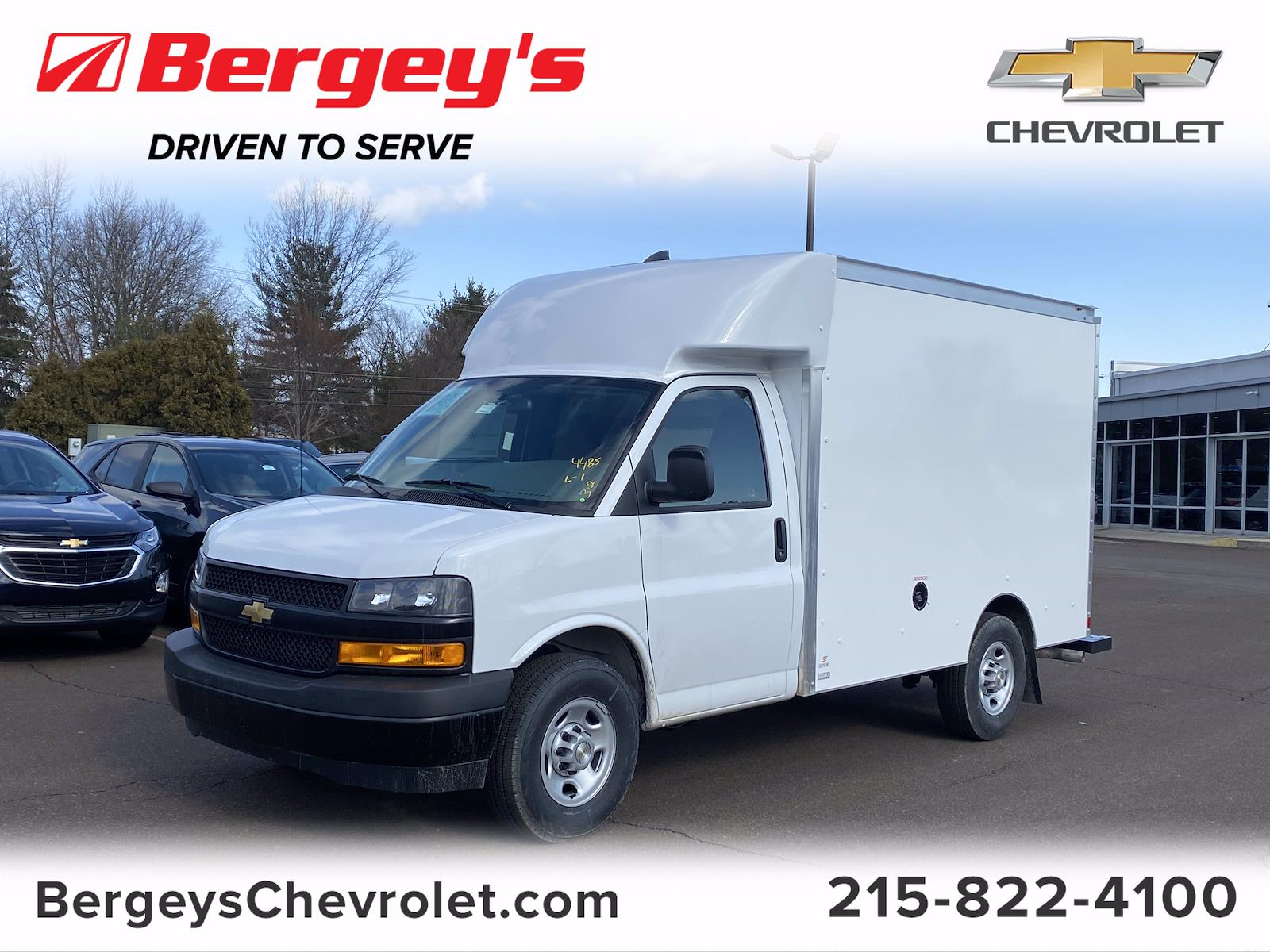 2021 Chevrolet Express 3500 4x2, Supreme Cutaway Van #1430R - photo 1