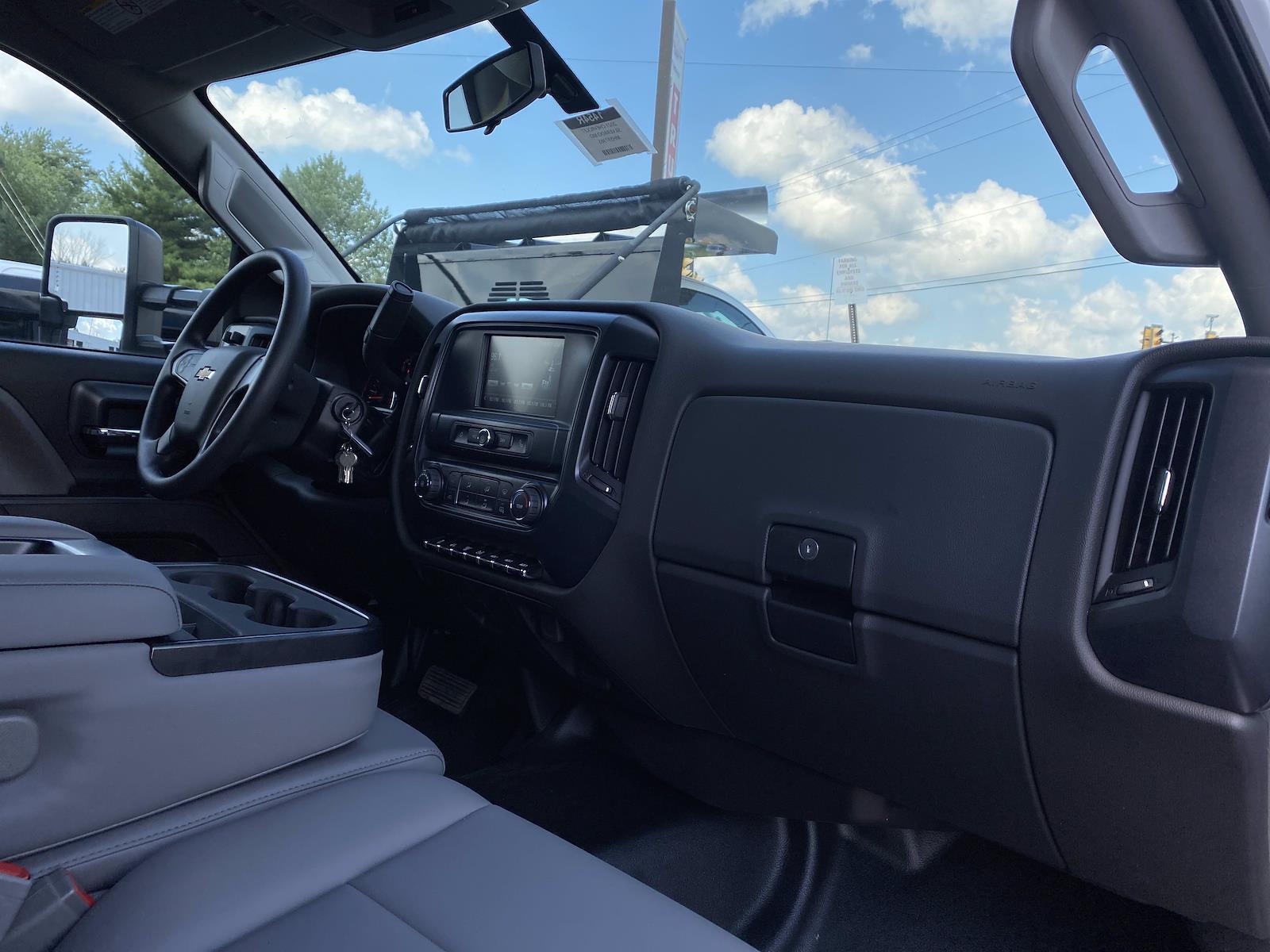 2021 Chevrolet Silverado 5500 Regular Cab DRW 4x2, Rugby Landscape Dump #1454R - photo 10