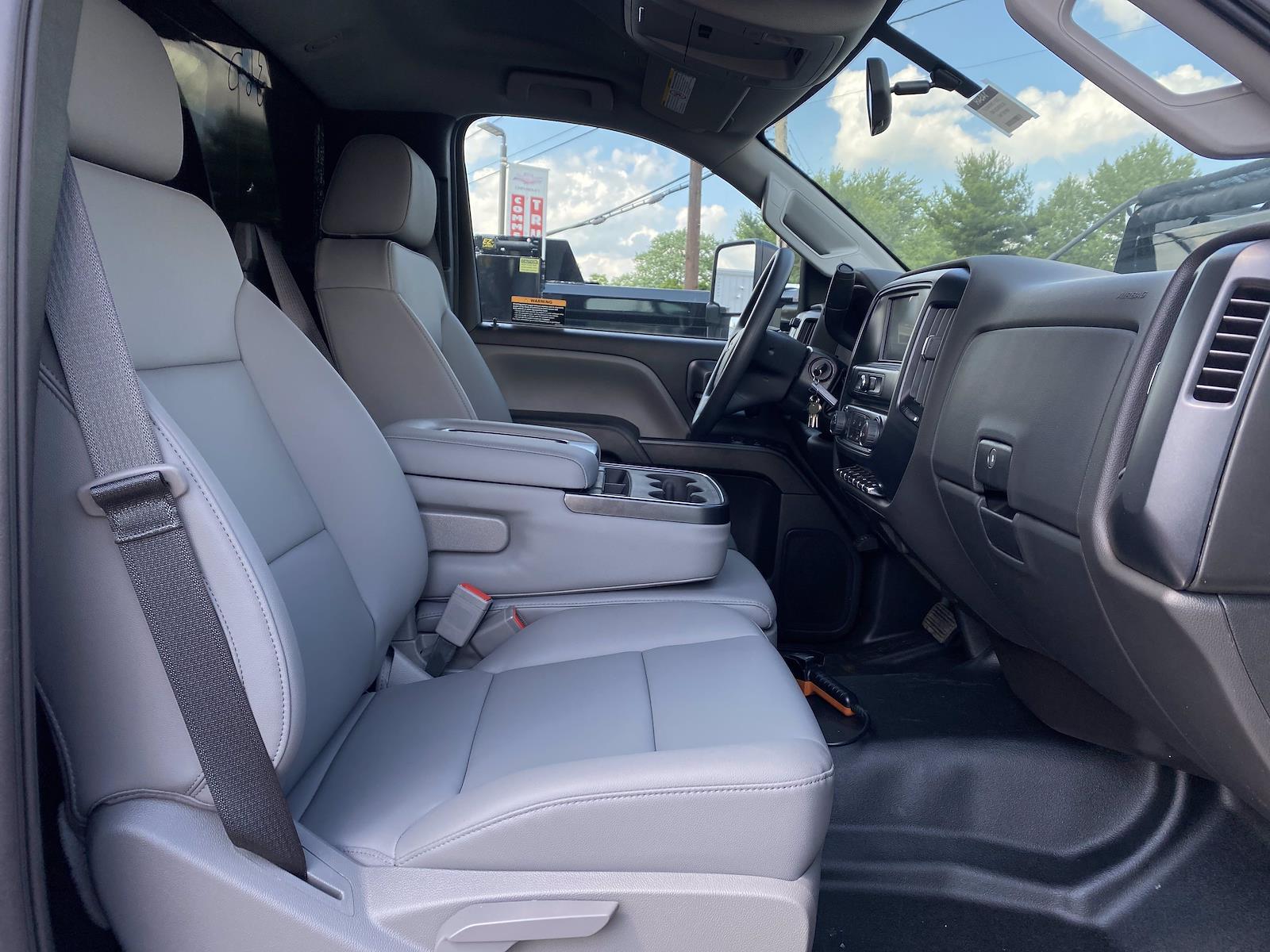 2021 Chevrolet Silverado 5500 Regular Cab DRW 4x2, Rugby Landscape Dump #1454R - photo 11