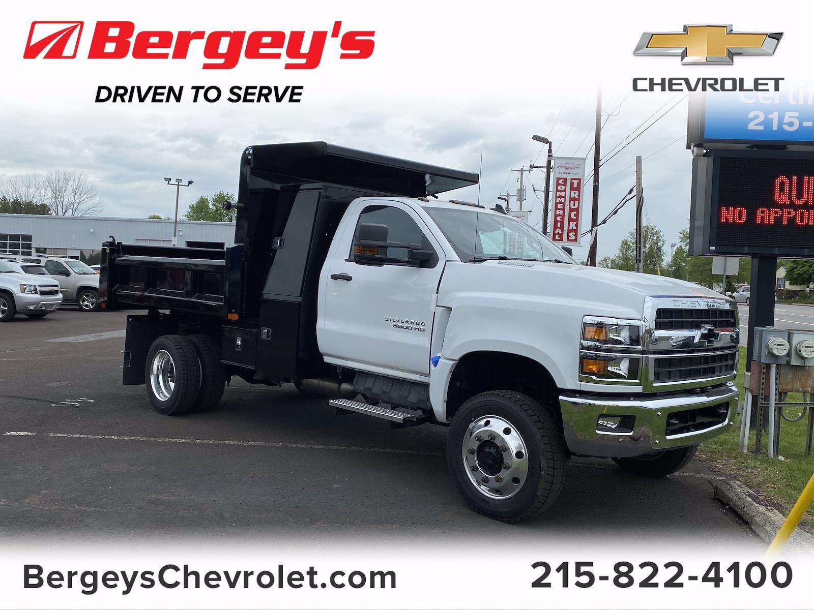 2021 Chevrolet Silverado 5500 Regular Cab DRW 4x4, Rugby Dump Body #1455R - photo 1