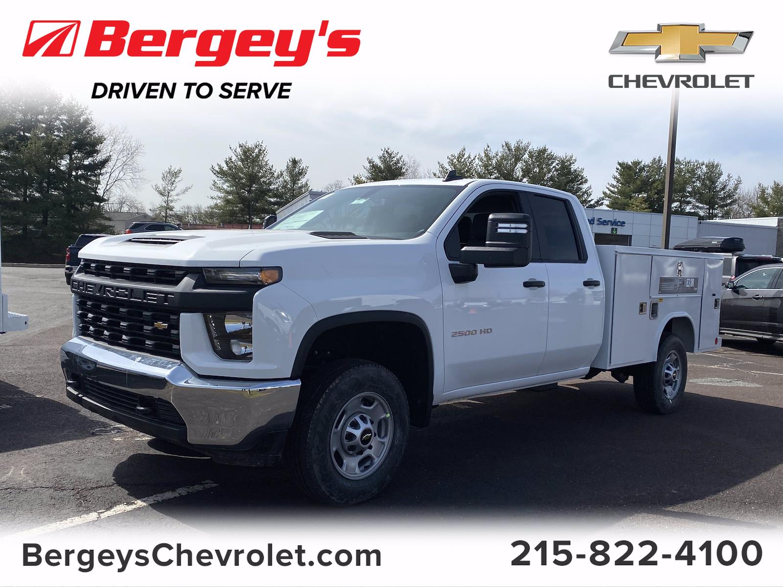 2021 Chevrolet Silverado 2500 Double Cab 4x2, Service Body #1469R - photo 1