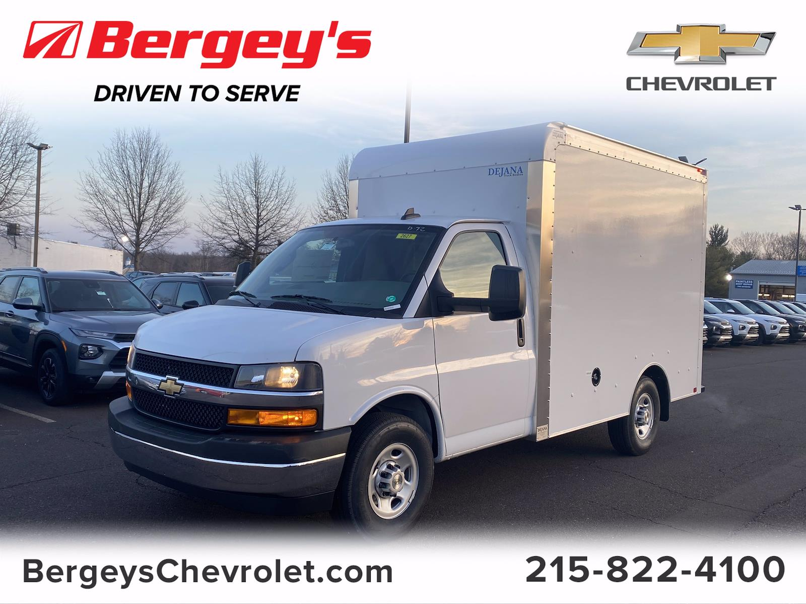 2021 Chevrolet Express 3500 4x2, Dejana Cutaway Van #1485R - photo 1
