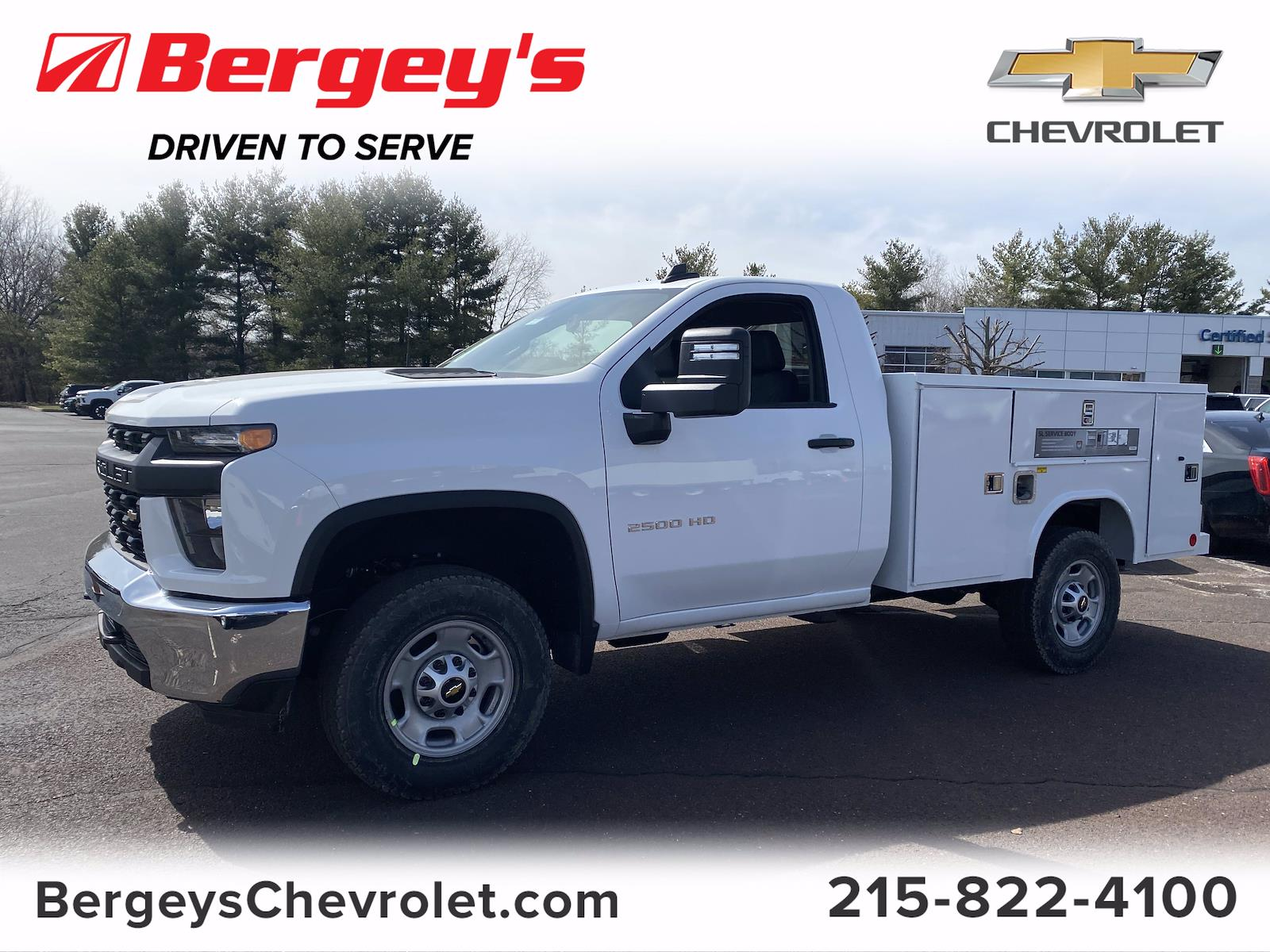 2021 Chevrolet Silverado 2500 Regular Cab 4x4, Reading Service Body #1495R - photo 1