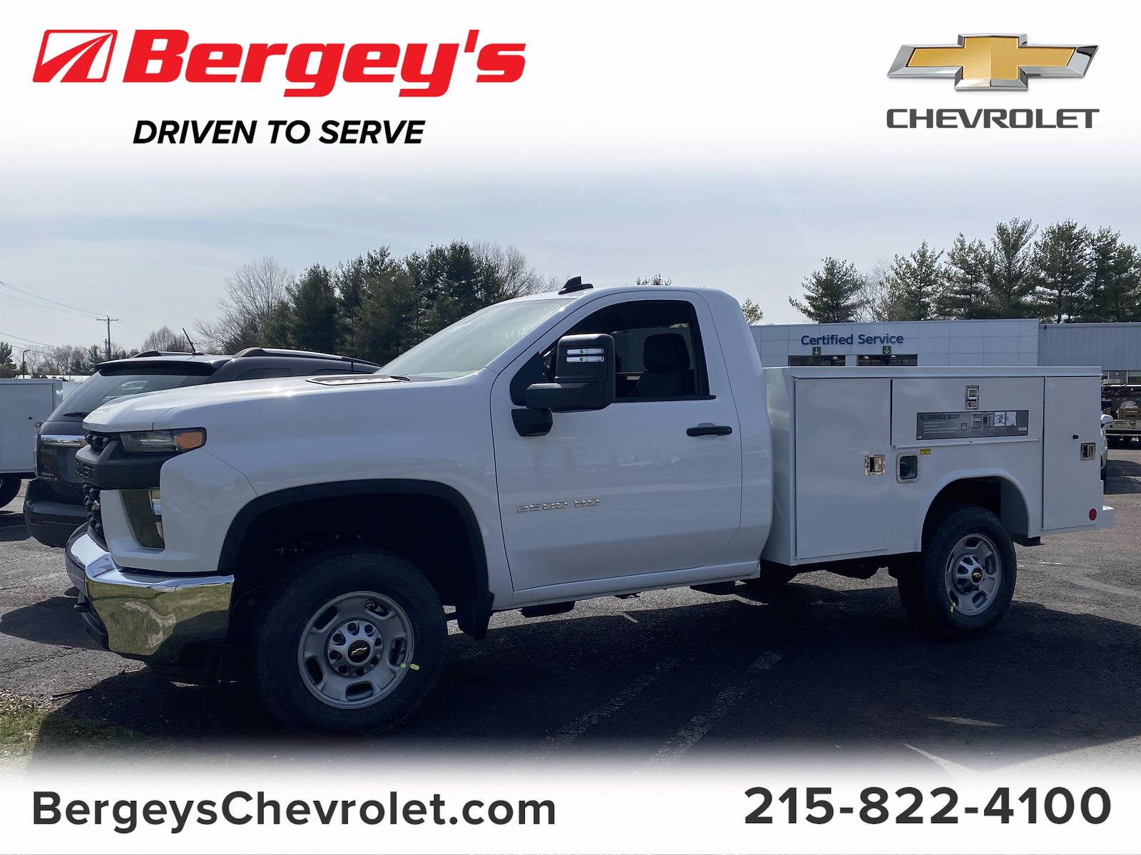 2021 Chevrolet Silverado 2500 Regular Cab 4x2, Reading Service Body #1497R - photo 1