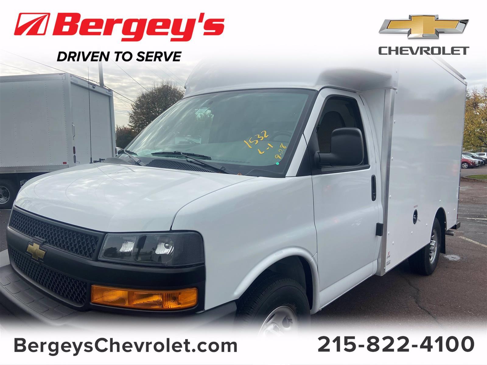 2020 Chevrolet Express 3500 4x2, Cutaway Van #1950Q - photo 1