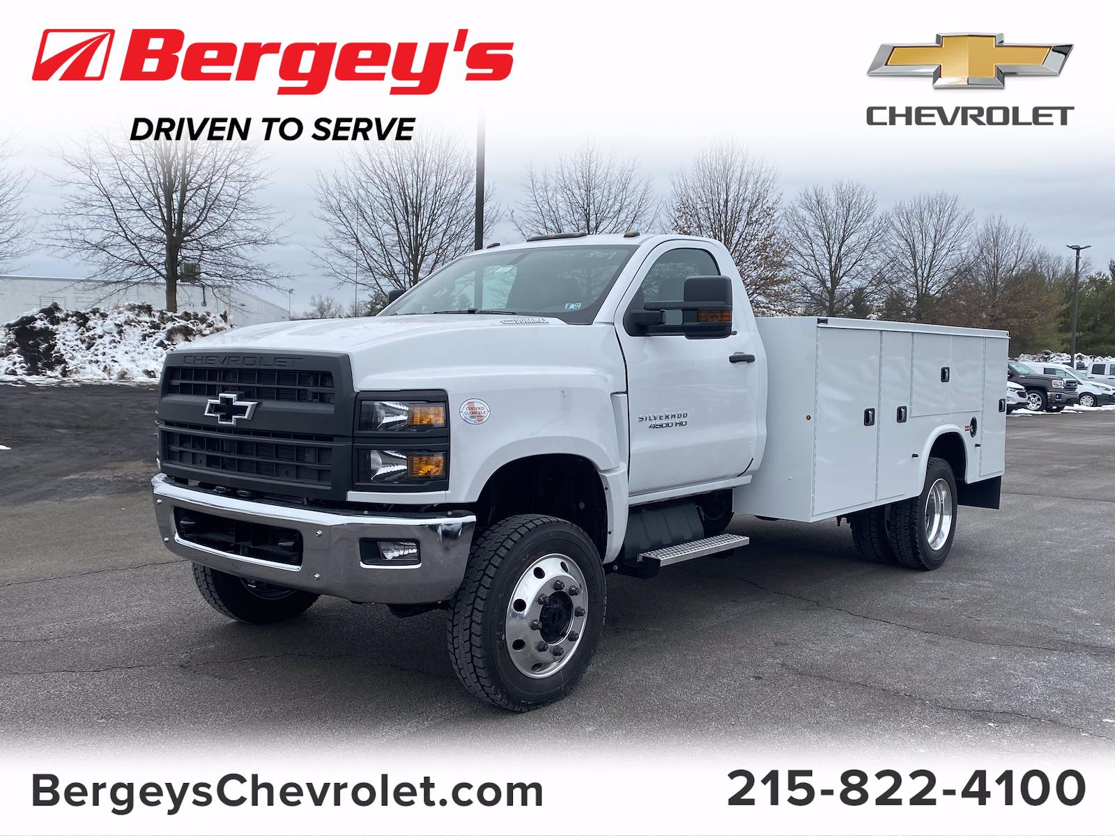 2020 Chevrolet Silverado 4500 Regular Cab DRW 4x4, Knapheide Service Body #2007Q - photo 1