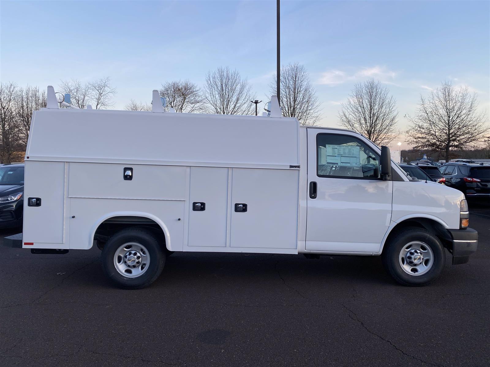 2020 Chevrolet Express 3500 4x2, Knapheide Service Utility Van #2012Q - photo 1