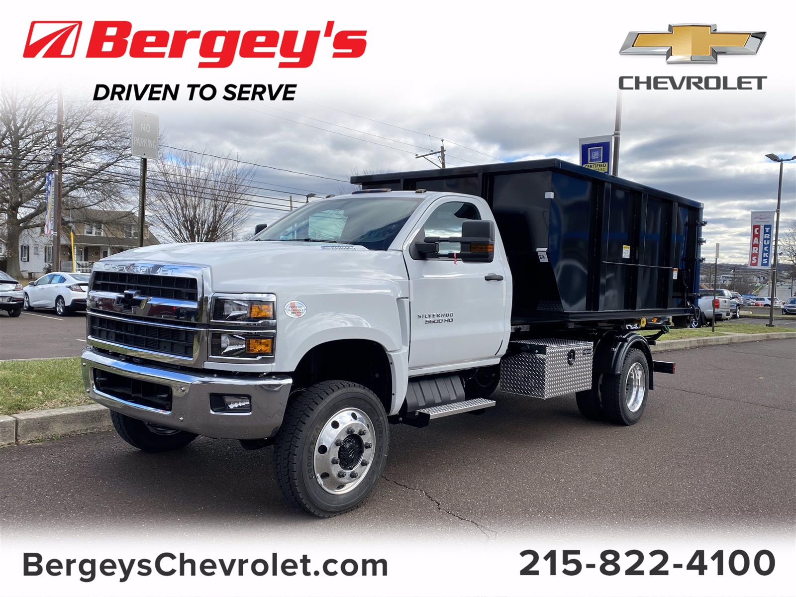 2020 Chevrolet Silverado 5500 Regular Cab DRW 4x4, Switch N Go Hooklift Body #2021Q - photo 1