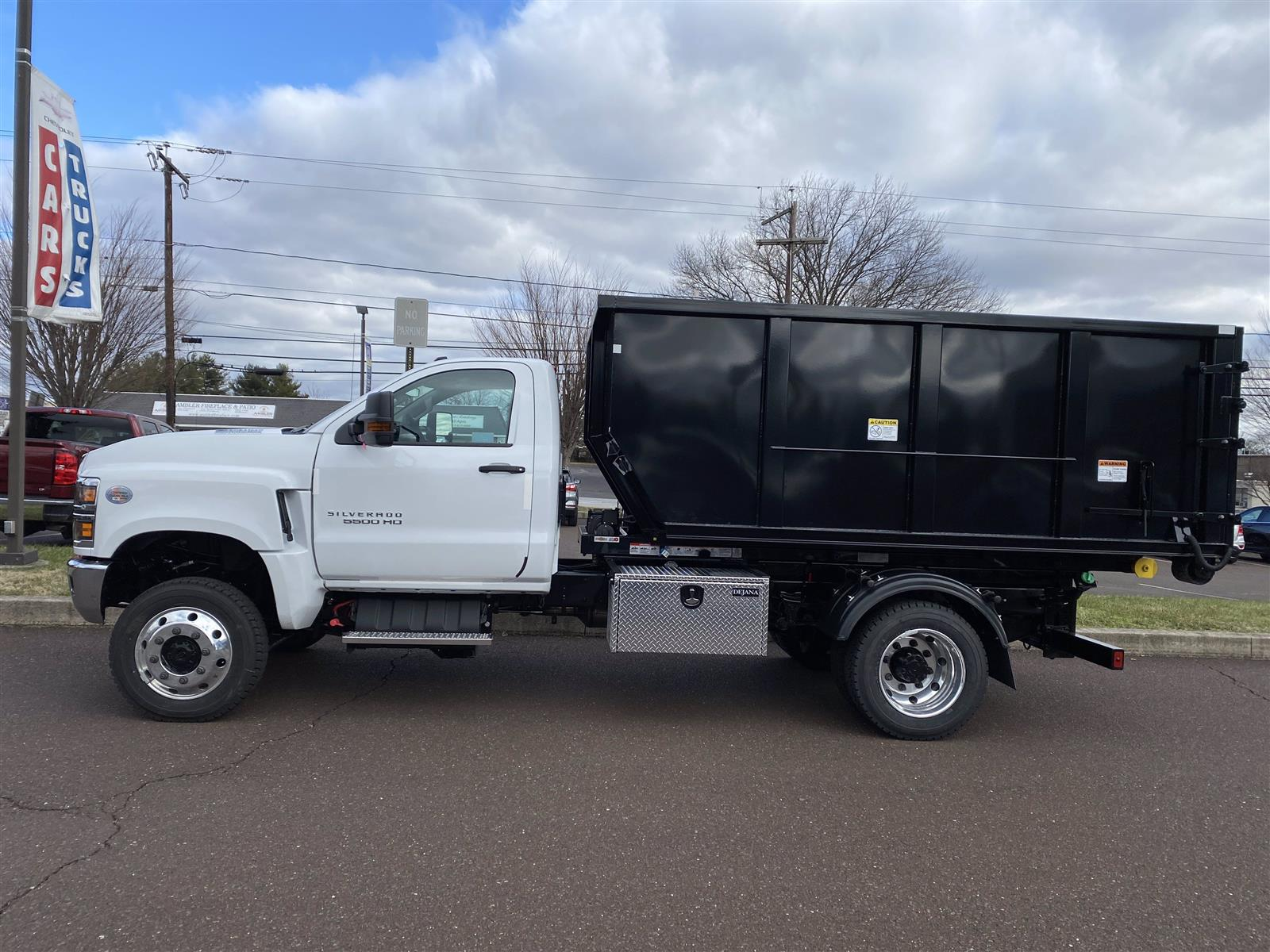 2020 Chevrolet Silverado 5500 Regular Cab DRW 4x4, Switch N Go Drop Box Hooklift Body #2021Q - photo 4