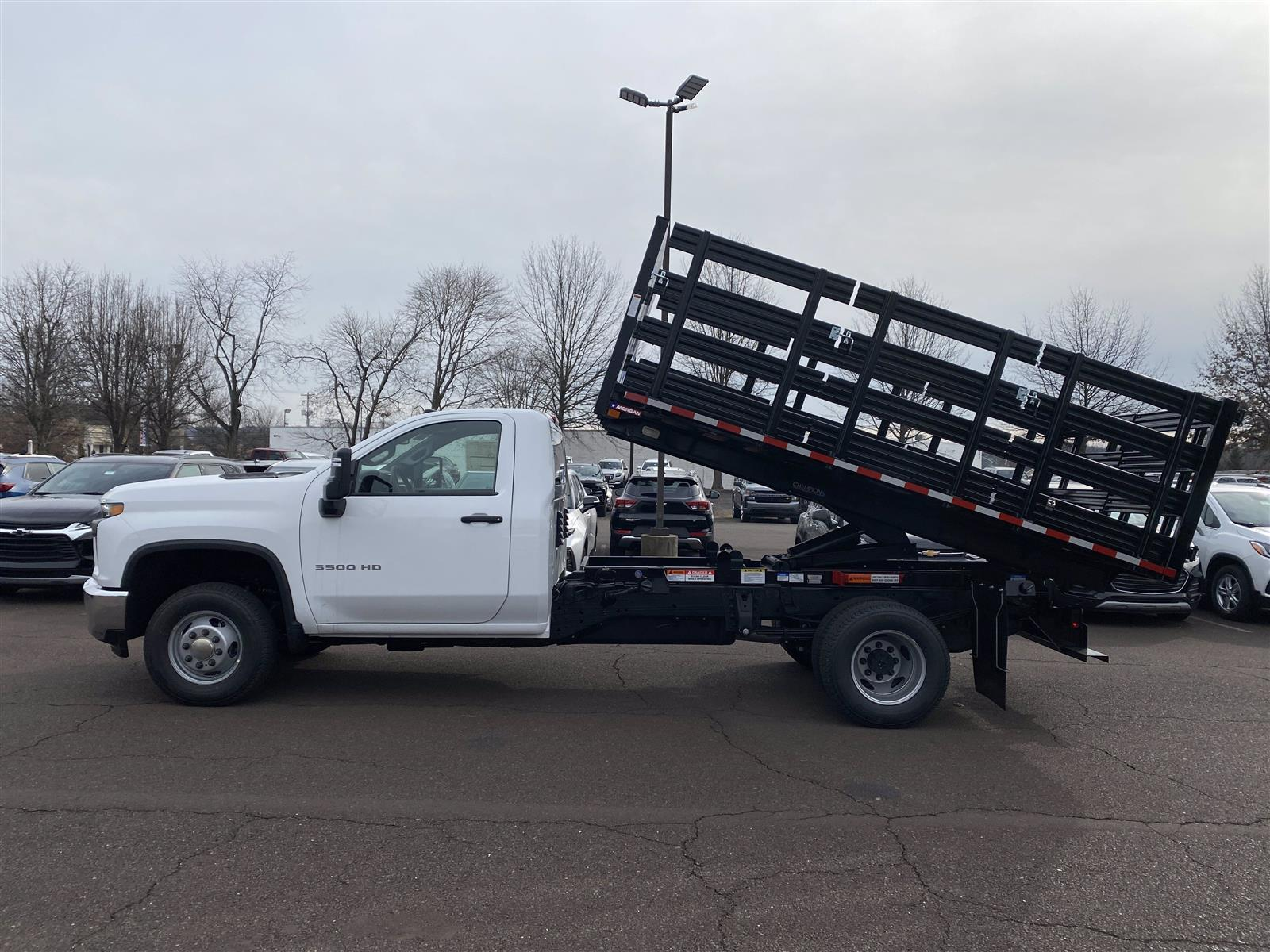2020 Chevrolet Silverado 3500 Regular Cab DRW 4x4, Stake Bed #2029Q - photo 1