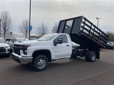 2020 Chevrolet Silverado 3500 Regular Cab DRW 4x4, Stake Bed #2029Q - photo 11