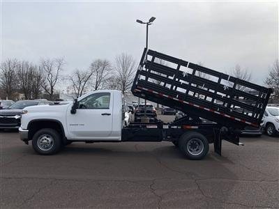 2020 Chevrolet Silverado 3500 Regular Cab DRW 4x4, Stake Bed #2029Q - photo 2