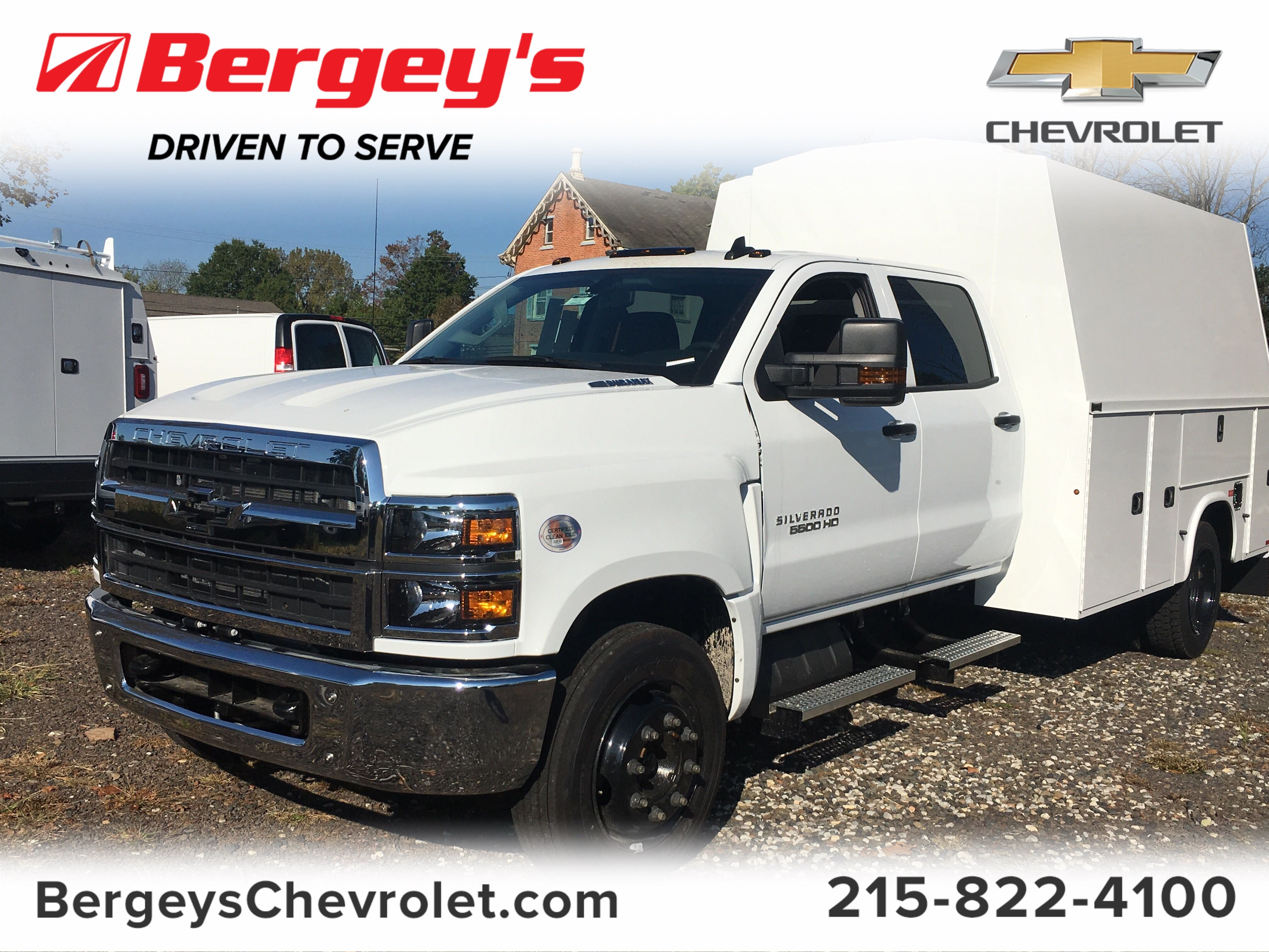 2019 Chevrolet Silverado 5500 Crew Cab DRW 4x2, Knapheide Service Body #2127P - photo 1