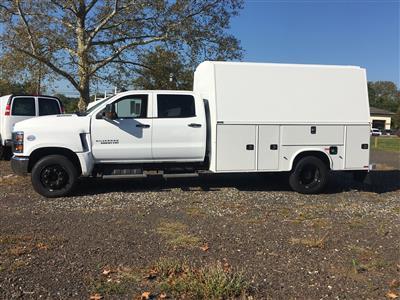 2019 Chevrolet Silverado 5500 Crew Cab DRW 4x2, Knapheide KUVcc Service Body #2127P - photo 3