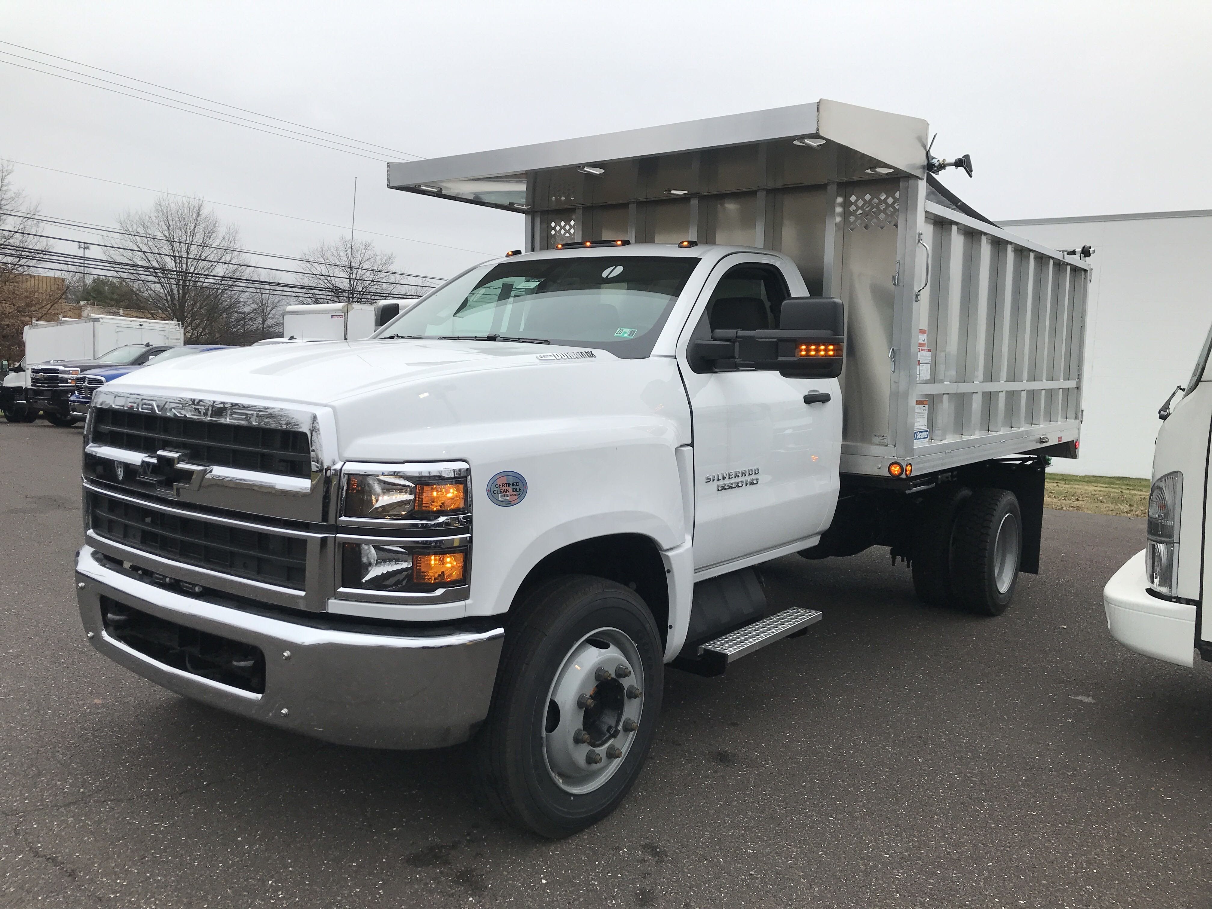 2019 Chevrolet Silverado 5500 Regular Cab DRW 4x2, Dejana MAXScaper Landscape Dump #2241P - photo 5