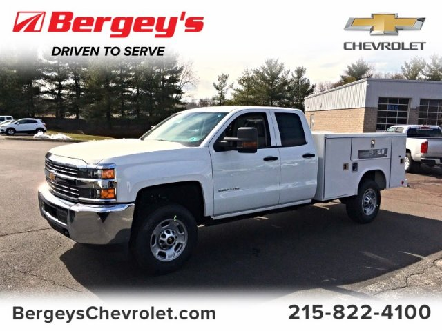 2018 Silverado 2500 Double Cab, Reading SL Service Body #9908N - photo 1