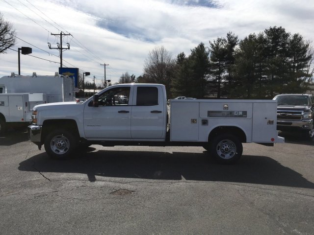 2018 Silverado 2500 Double Cab, Reading SL Service Body #9908N - photo 4