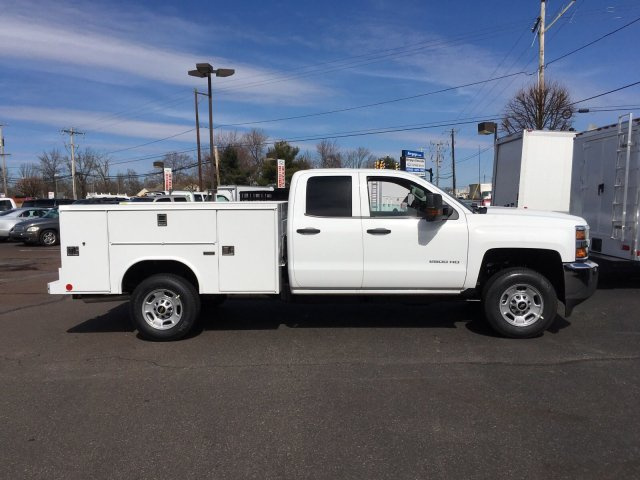 2018 Silverado 2500 Double Cab, Reading SL Service Body #9908N - photo 8
