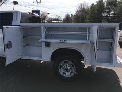 2018 Silverado 2500 Double Cab, Reading SL Service Body #9908N - photo 5