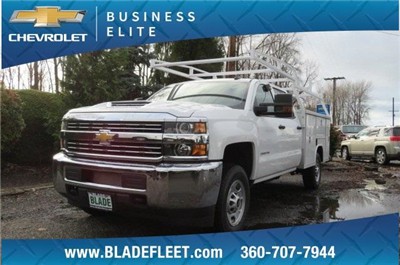 2018 Silverado 2500 Crew Cab, Harbor TradeMaster Service Body #10146 - photo 3