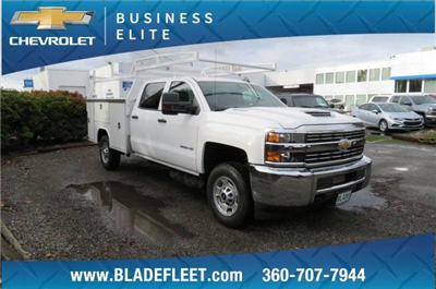 2018 Silverado 2500 Crew Cab, Harbor TradeMaster Service Body #10146 - photo 1