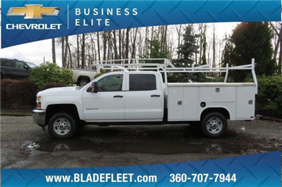 2018 Silverado 2500 Crew Cab, Harbor TradeMaster Service Body #10146 - photo 6