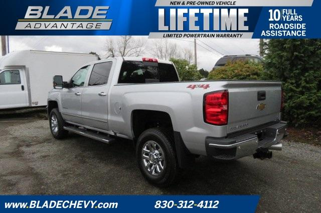 2018 Silverado 3500 Crew Cab 4x4, Pickup #10502 - photo 4