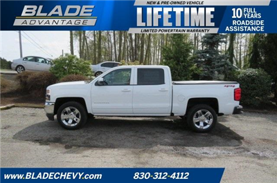 2018 Silverado 1500 Crew Cab 4x4, Pickup #10534 - photo 9