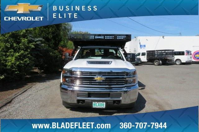 2018 Silverado 3500 Regular Cab DRW 4x2,  Knapheide Contractor Body #10652 - photo 10
