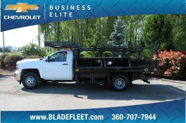 2018 Silverado 3500 Regular Cab DRW 4x2,  Knapheide Contractor Body #10652 - photo 11