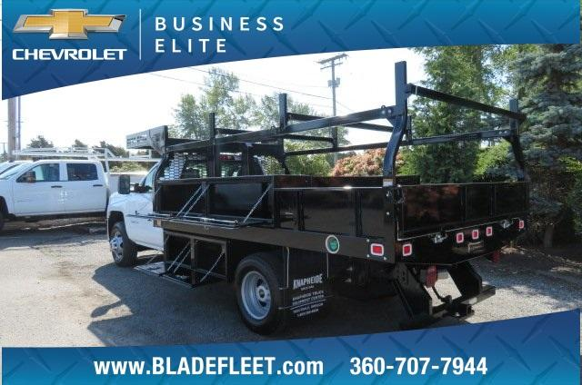 2018 Silverado 3500 Regular Cab DRW 4x2,  Knapheide Contractor Body #10652 - photo 2