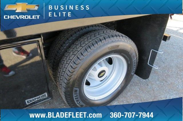 2018 Silverado 3500 Regular Cab DRW 4x2,  Knapheide Contractor Body #10652 - photo 4