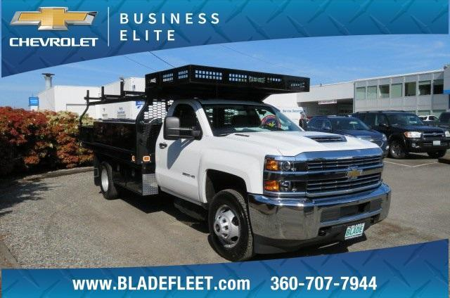 2018 Silverado 3500 Regular Cab DRW 4x2,  Knapheide Contractor Body #10652 - photo 5