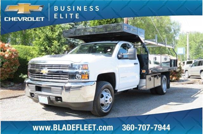 2018 Silverado 3500 Regular Cab DRW 4x2,  Knapheide Concrete Contractor Body #10652 - photo 1
