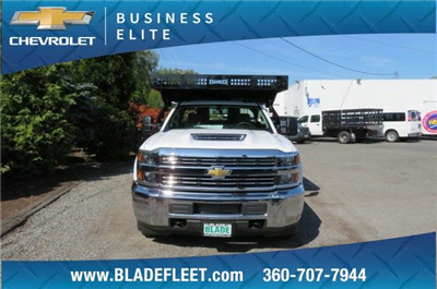 2018 Silverado 3500 Regular Cab DRW 4x2,  Knapheide Concrete Contractor Body #10652 - photo 10
