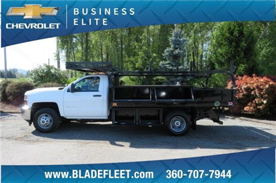 2018 Silverado 3500 Regular Cab DRW 4x2,  Knapheide Concrete Contractor Body #10652 - photo 11