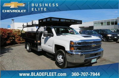 2018 Silverado 3500 Regular Cab DRW 4x2,  Knapheide Concrete Contractor Body #10652 - photo 5