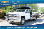 2018 Silverado 3500 Regular Cab DRW 4x2,  Knapheide Contractor Body #10652 - photo 1