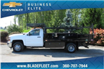 2018 Silverado 3500 Regular Cab DRW 4x2,  Knapheide Concrete Contractor Body #10652 - photo 6