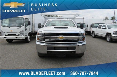 2018 Silverado 3500 Regular Cab DRW 4x2,  Knapheide Contractor Bodies Contractor Body #10653 - photo 10