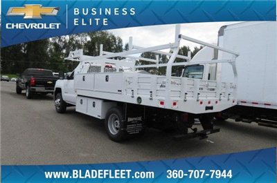 2018 Silverado 3500 Regular Cab DRW 4x2,  Knapheide Contractor Bodies Contractor Body #10653 - photo 2