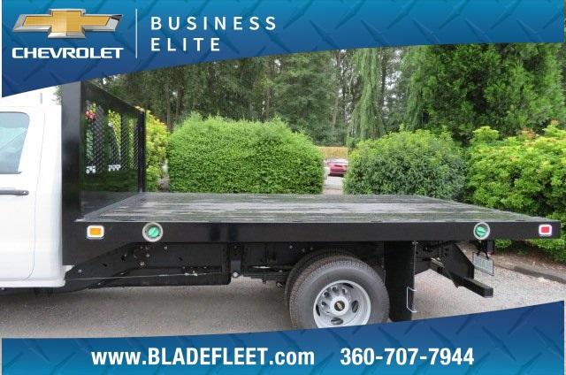2018 Silverado 3500 Regular Cab DRW 4x4,  Knapheide Value-Master X Platform Body #10655 - photo 4