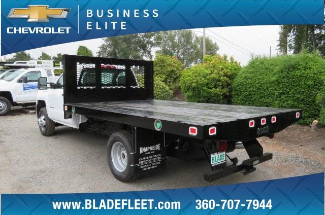 2018 Silverado 3500 Regular Cab DRW 4x4,  Knapheide Platform Body #10655 - photo 2