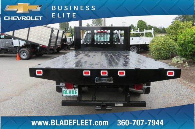 2018 Silverado 3500 Regular Cab DRW 4x4,  Knapheide Platform Body #10655 - photo 5