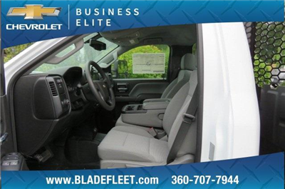 2018 Silverado 3500 Regular Cab DRW 4x4,  Knapheide Value-Master X Platform Body #10655 - photo 13
