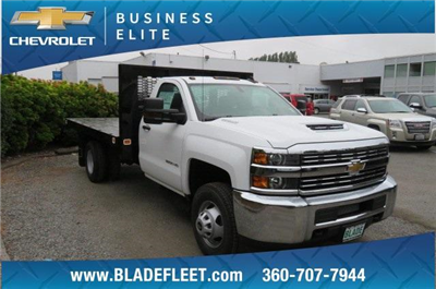2018 Silverado 3500 Regular Cab DRW 4x4,  Knapheide Value-Master X Platform Body #10655 - photo 23