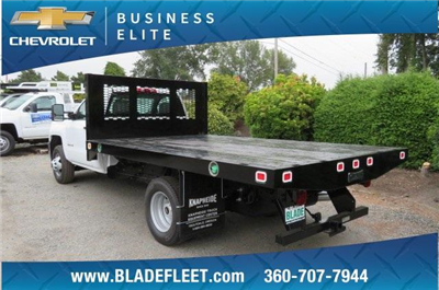 2018 Silverado 3500 Regular Cab DRW 4x4,  Knapheide Value-Master X Platform Body #10655 - photo 2
