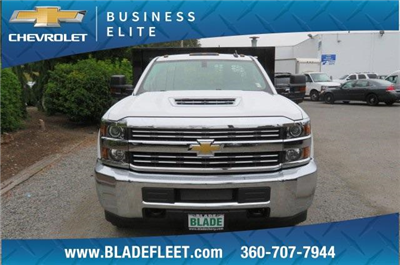 2018 Silverado 3500 Regular Cab DRW 4x4,  Knapheide Value-Master X Platform Body #10655 - photo 6