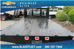 2018 Silverado 3500 Regular Cab DRW 4x4,  Knapheide Value-Master X Platform Body #10655 - photo 8